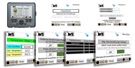 Flow-Control-Display